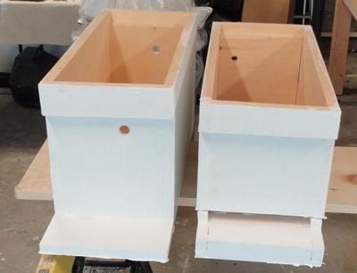 5 Frame Hives Deep & Medium